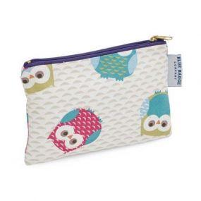 Blue Badge Company Cosmetics Purse - Owls