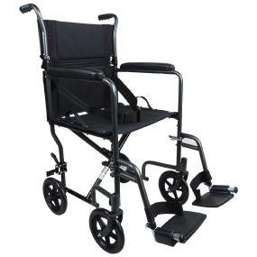 Steel Compact Transport Wheelchair - Ham
