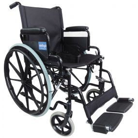 Self Propelled Steel Transit Chair - Ham