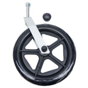 Spare Front Castor Expedition Plus Travel Wheelchair (Silver)