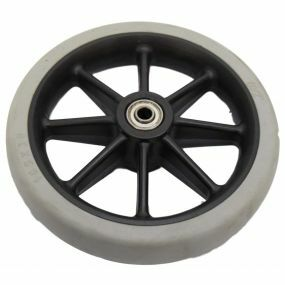 Wheelchair / Mobility Aid Castor Wheel Solid - 165x30mm