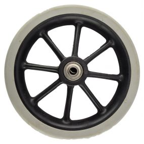 Wheelchair / Mobility Aid Castor Wheel Solid - 130x30mm