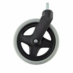 Wheelchair / Mobility Aid Castor Wheel Solid - 180x35mm (With Axel)