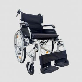 High Line Self Propelled Wheelchair - Silver (18