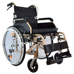 High Line Self Propelled Wheelchair - Champagne (18
