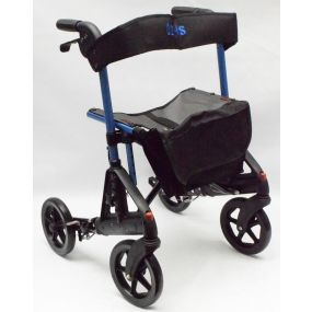 Days Fortis Rollator with Adjustable Seat Height - Blue