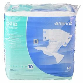 Attends Slip - Regular - Absorbsion 10 - XL - Pack Of 14