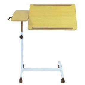 Deluxe Overbed Table On Castors