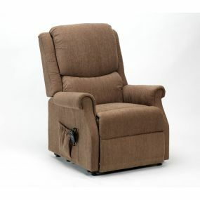 Indiana Petite Rise & Recline Armchair - Mushroom