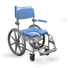 Shower Commode Chair Wheeled Wide Self Propelled - 22