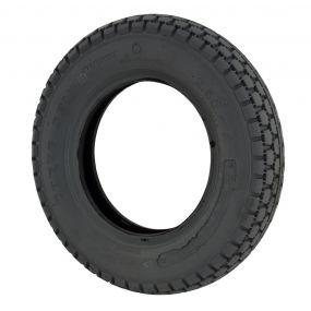 Cheng Shin - Pneumatic Black Tyre (Pattern Block C154) - 300 x 4