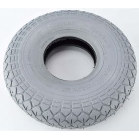 Cheng Shin - Pneumatic Grey Tyre (Pattern Block C154) - 300 x 4