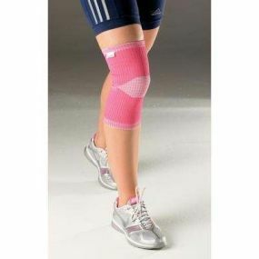 Vulkan Advanced Elastic Knee Support - Small (Pink)
