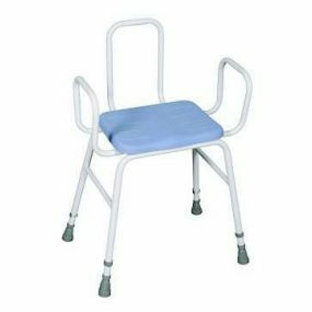 Deluxe Perching Stool - Adjustable Height (Tubular Arms and Back)