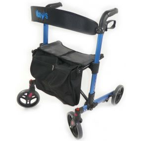 Days Quick Fold Rollator - Blue