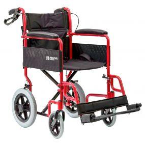 Basic Transit Wheelchair - Red