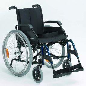 Lightweight Self-Propelling Wheelchair - Blue