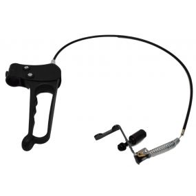 Escape Lite Wheelchair - Replacement Plastic Handle & Brake cable V2 (Left)