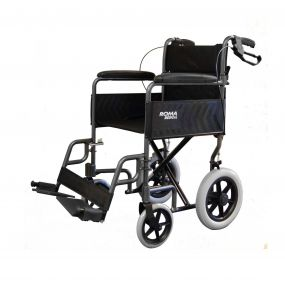 Basic Transit Wheelchair - Grey