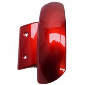 Pride Jazzy Select 6 - Left Mud Guard (Red)