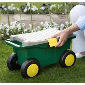 Garden Roller Stool & Toolbox