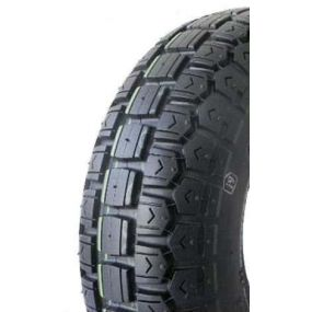 410/350 X 5 Black Solid Block Tyre (One Tyre Only)
