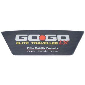 Pride GoGo Elite Traveller LX - Rear Decal
