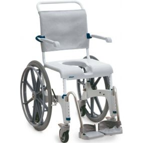 Aquatec Ocean Shower Commode Chair - Self Propelled XL