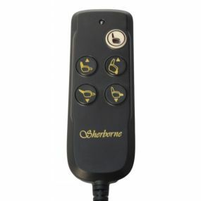 Sherborne 5 Button Handset 8 Pin (957D) - (BROWN FRONT )
