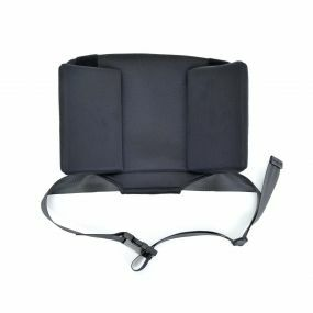 Backrest With Lapstrap for the Wheelable Lightweight Travel Commode / Shower Chair