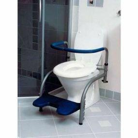 Svan Balance Toilet Frame - Frame, Duo Armrest, Footrest