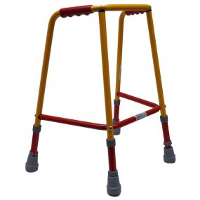 Coloured Paediatric Walking Frame - Without Wheels