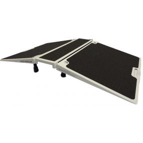 Folding Three Section Threshold Ramp - 26x20x7