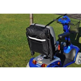 Splash Wheelchair Bag with Crutch Holder  - Grey