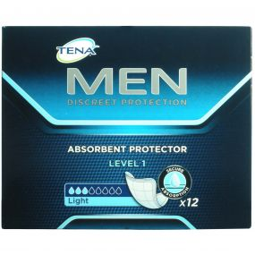 TENA Men Absorbent Protector - Level 1 (12PK)