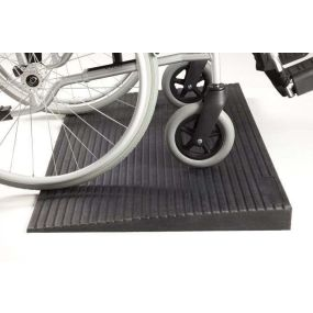 Rubber Threshold Ramp - 70mm (2.76