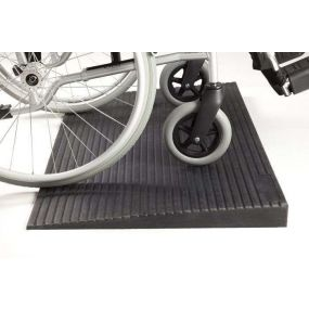 Rubber Threshold Ramp - 12mm (0.47