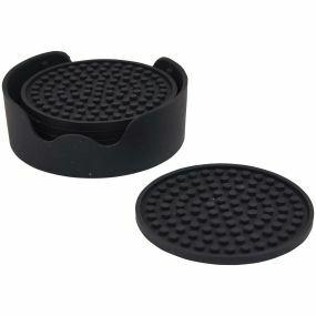 Non-Slip Silicone Table Coasters (6 Pack)