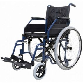 Steel Self Propelled Wheelchair