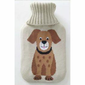 2 litre Hot water Bottle & Cover - Dog