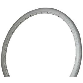 Grey Poly Urethane Wheelchair Tyre 22 x 1 (25 x 501)