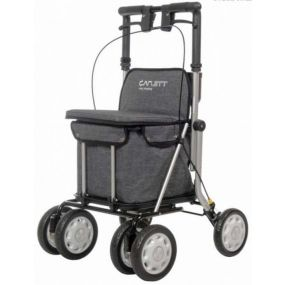 Carlett Shopping Trolley / Rollator - Grey