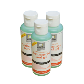 Antibacterial Hand Gel Bottle - 60ml - Triple Pack