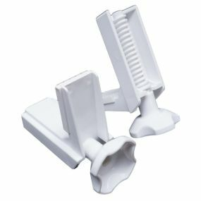 Savanah Raised Toilet Seat Spare Clamps - Normal Thread (pair)