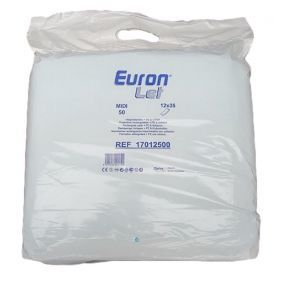 Euron Let - Midi Rectangular Incontinence Pads (50PK) **Out Of Date**