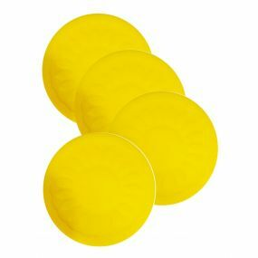 Economy Non Slip Table Coasters - Pack of 4 - Yellow