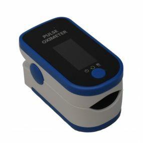 Blue Fingertip Pulse Oximeter