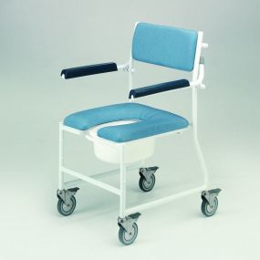 Deluxe Dual Mobile Shower Chair