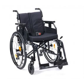 Super Deluxe 2 Alu Wheelchair - Black 20 Inch Self Propelled