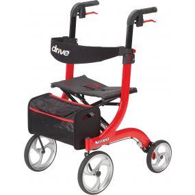 Drive Nitro Rollator - Red